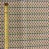bavlnene platno barevne kyticky v radach