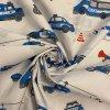 bavlnene platno vozovy park policie metraz