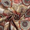 bavlnene platno cerveno sedo hnede mandaly