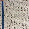 bavlnene platno barevne kapky na bile metr