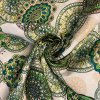 bavlnene platno zelene mandaly uvod