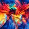 bavlneny uplet barevny abstrakt 2
