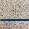 bavlnene platno modre kvitky s vetvickami na ecru metr