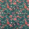 bavlnene platno kvetiny a motyli na petrolejove 2