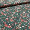 bavlnene platno kvetiny a motyli na petrolejove 3