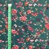bavlnene platno kvetiny a motyli na petrolejove 4