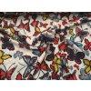 Silky barevní motýli
