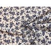 bavlnene platno modra divka v kroji zak