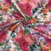 bavlna rezna velke ruzove kvety11