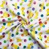 bavlna kacenky a barevne puntiky 1