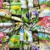 rezna bavlna patchwork jarni kvety 666