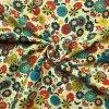 bavlnene platno barevne trsy kvetin 3