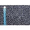 bio bavlneny uplet rozhazene kosticky na tmave modre gots 3