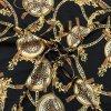 umele hedvabi silky armani ornamenty s leopardim vzorem na cerne 1