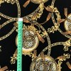 umele hedvabi silky armani ornamenty s leopardim vzorem na cerne 3