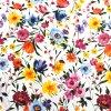 bavlna barevne kytky 2