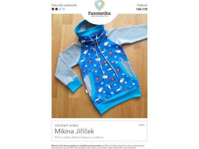Mikina Jiříček 140-170