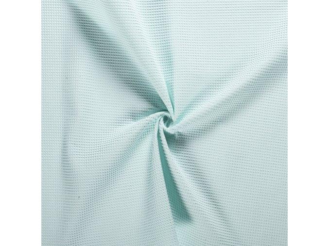 Bavlna vafle mint