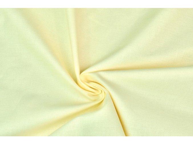 Bavlnené plátno vanilkové