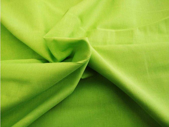 Bavlnené plátno jarná zeleň