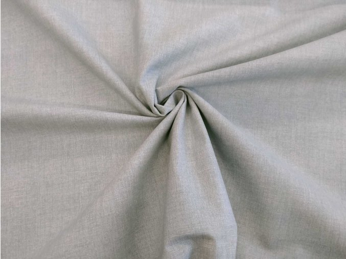 Bavlnené plátno sivé melír