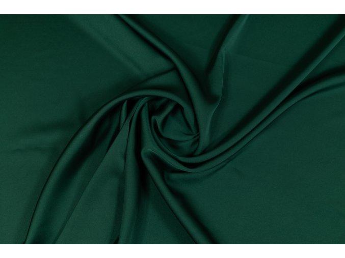 Umelý hodváb / Silky Armani fľaškovozelený