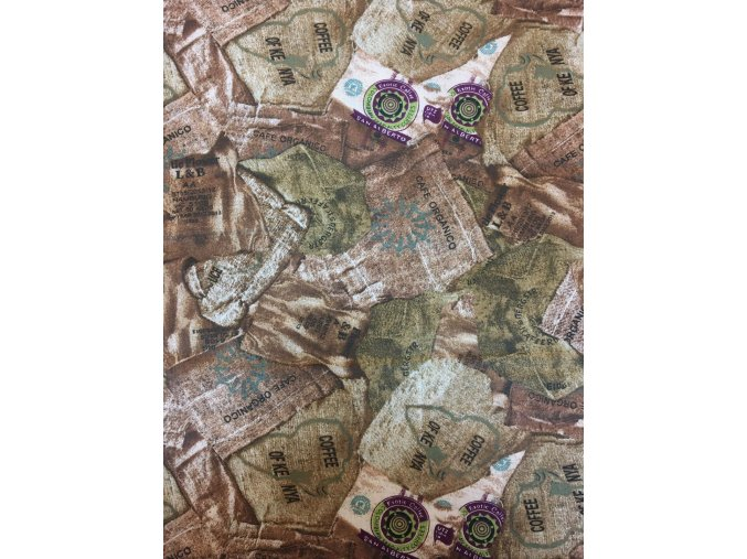 Bavlnené plátno kávové vrecia