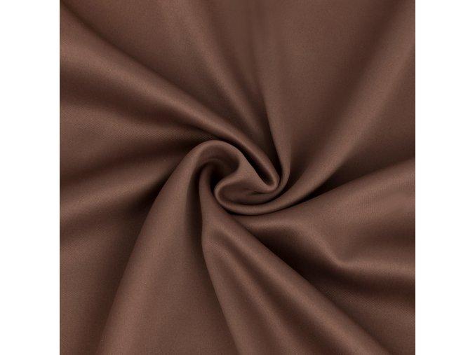 Zatemňovacia látka čokoládová hnedá