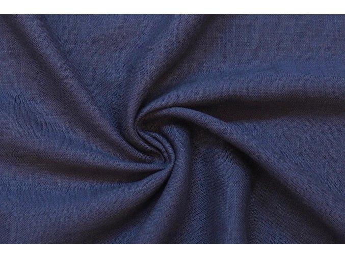Ľanová tkanina jeans