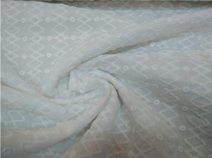 Madeira lomená biela - indická