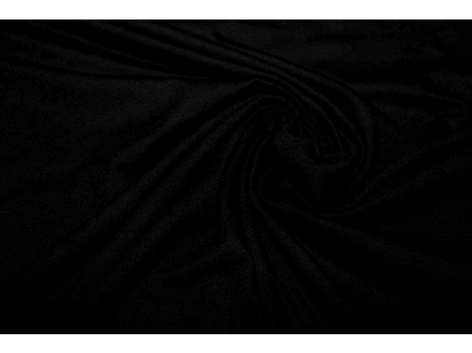 Bambusový výplnok čierny - 94% bambusová viskóza / 6% elastan