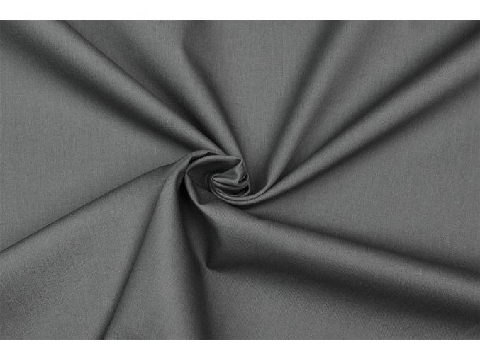 Popelín sivý