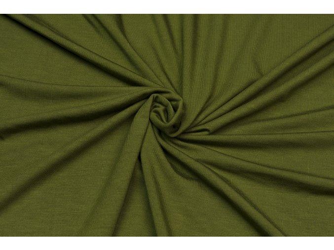 Bambusový úplet khaki