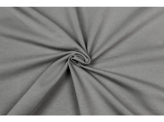 Úplet elastický BIO sivá STONE