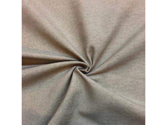 Bavlna režná béžový melír