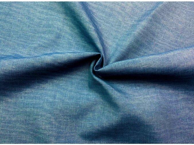 Bavlna režná svetlý modrý melír