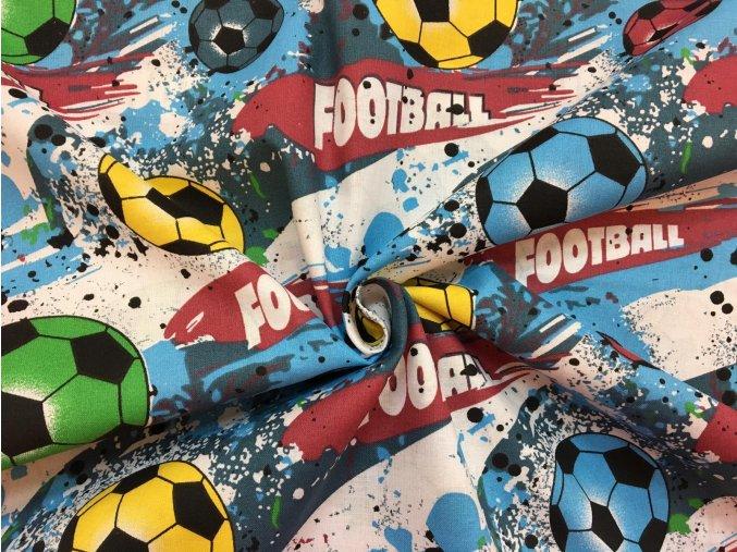 Bavlnené plátno futbalové lopty