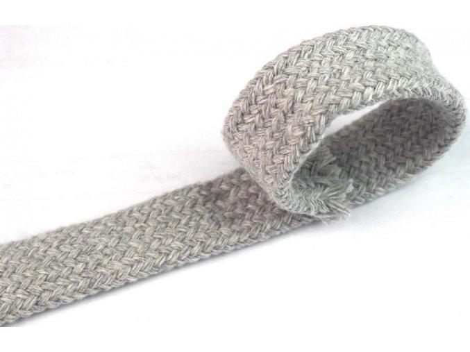 Šnúra bavlnená dutinka 1,8 cm