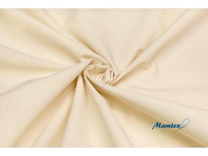 Bavlnené plátno prírodné 310 g/m2