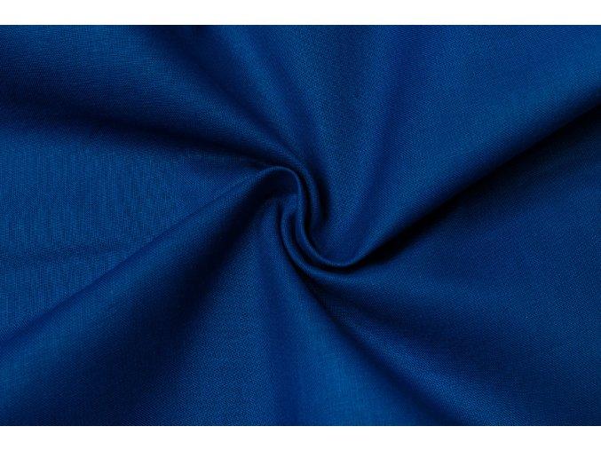 Bavlněné plátno modré