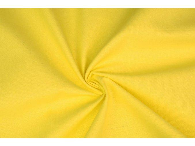 bavlněné plátno žlté