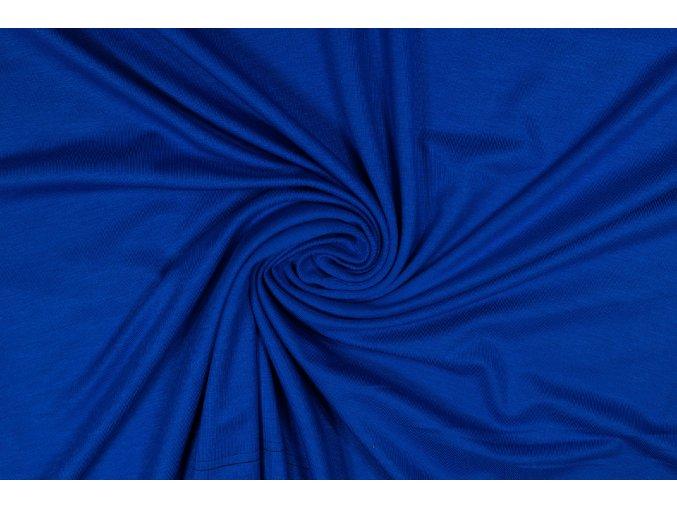 Bambusový úplet královská modrá