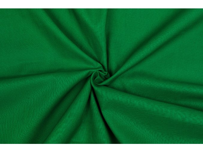 Bavlnené plátno zelené Beneton