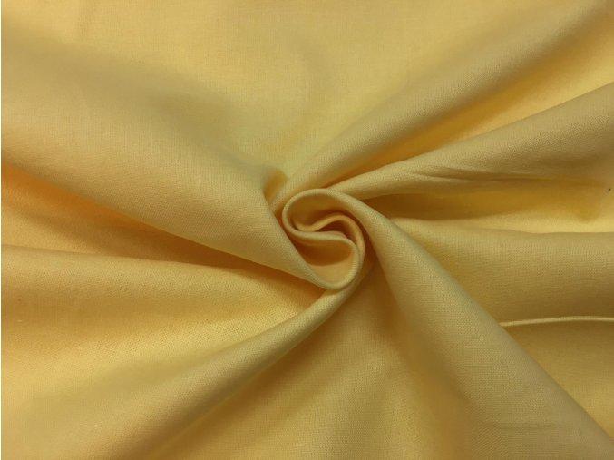 Bavlnené plátno banánové