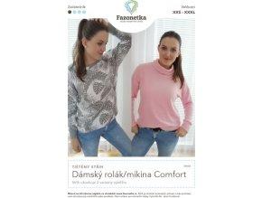 Dámský rolák/mikina Comfort