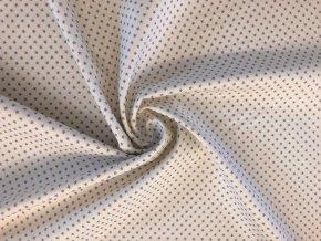 Bavlnené plátno TILDA® CLASSIC BASICS - TINY STAR GREY
