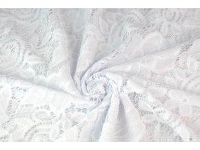 Krajka biela elastická3