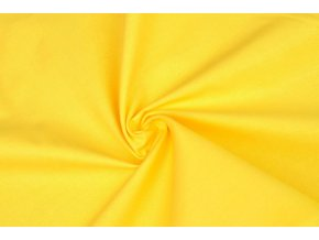 Bavlněné plátno žlutooranžové
