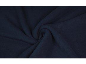 Fleece modrý tmavý
