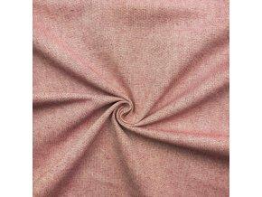 Bavlna režná tmavočervený melír